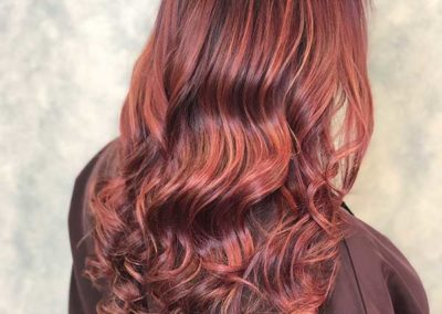 Hair Spa Clifon - Red highlights